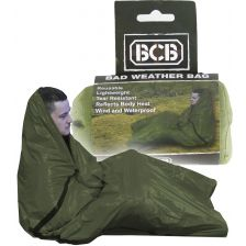 BCB Bad Weather Bag waterproof nooddeken groen