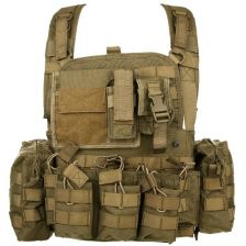 Chest Rig Operator Coyote