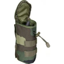 Molle pouch airsoft BB fles woodland