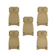 Molle webbing clip 5-pack JFO06 coyote