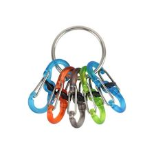 Nite Ize KeyRing Locker Stainless 5 colors