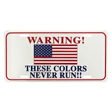 Nummerplaat WARNING! These col.... #3165