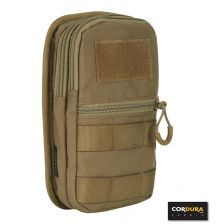 Padded utility pouch Cordura coyote