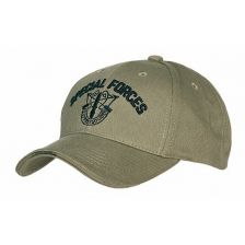 Baseball cap Special Forces groen