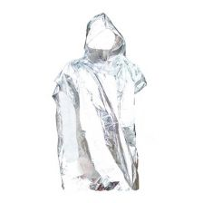 Reflecterende survival poncho