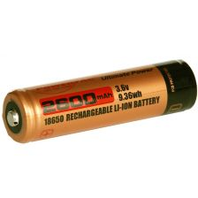 PowerTac battery 18650 rechargeable 2600 mAh