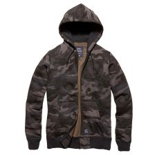 Hooded sweater Redstone Night camo