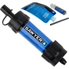 Waterfilter Sawyer mini blauw