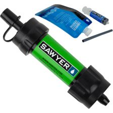 Waterfilter Sawyer mini groen