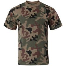 T-shirt Poolse camo