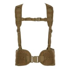 Tactical riem met harnas coyote