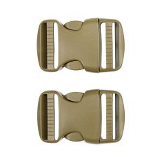 Tactical spare buckle 38mm set 2 st. coyote