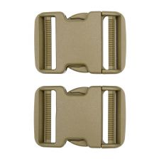 Tactical spare buckle 50mm set 2 st. coyote