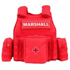 Tactical vest Marshall rood