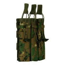Triple side-arm magazine pouch Molle digi camo