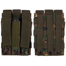 Triple side-arm magazijn pouch Molle digi camo