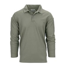 Tactical polo Quickdry lange mouw groen