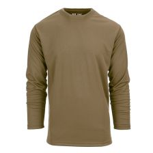 Tactical T-shirt Quickdry lange mouw Coyote