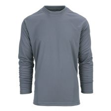 Tactical t-shirt Quickdry lange mouw Wolf Grey
